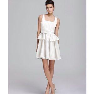 Marc Jacobs Drew Denim Dress in White